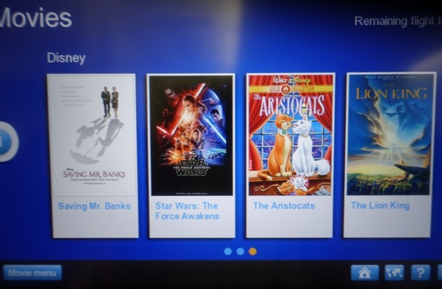 Airplane Movie Choices, Disney Movies, Star Wars
