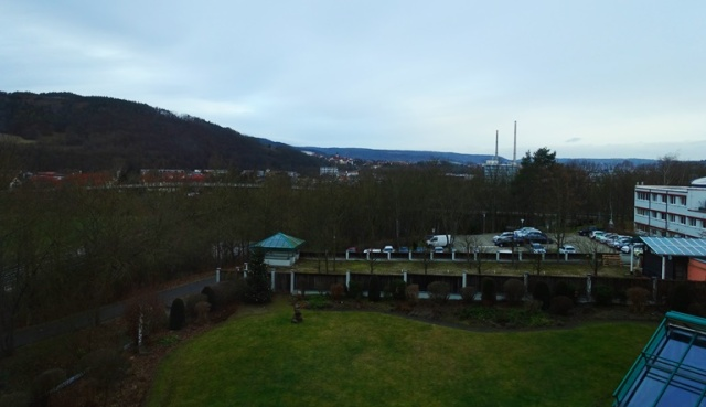 Maxx Hote, Jena, Germany, Room View, Saale Valley