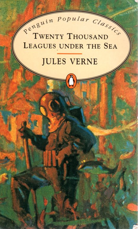 Jules Vern, Twenty Thousand Leagues Under the Sea, Penguin Popular Classics. Book Collection