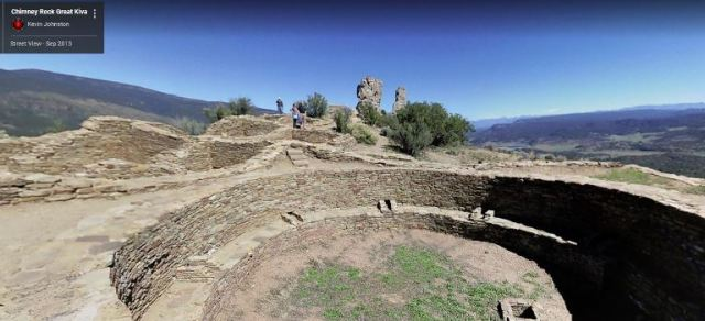 Great Kiva, Chimney Rock, Chaco Culture, Archaeology