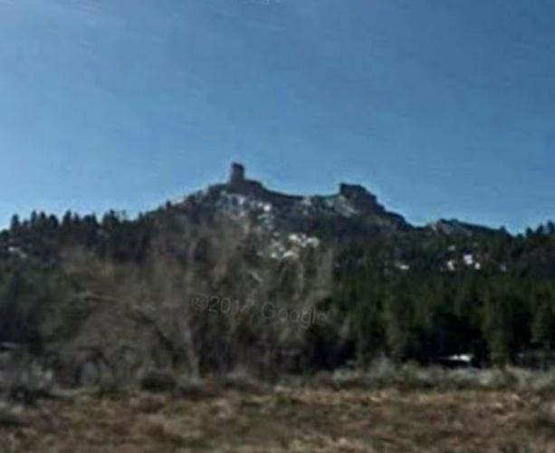 Chimney Rock, Companion Rock, Colorado, Hiking, Google Street View