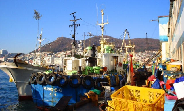 Fishing Boat, Nampo Harbour, Busan, South Korea