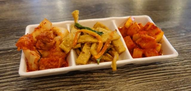 Kimchi, Pickle, banchan, small dishes