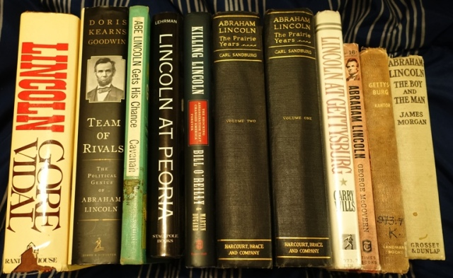 Abraham Lincoln, Books, Lincoln's Birthday, Reading List