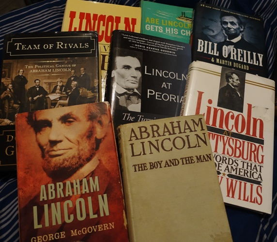 Lincoln Books, Lincoln's Birthday, Bill O'Reilly, George McGovern, President Lincoln, Gettysburg, Gore Vidal