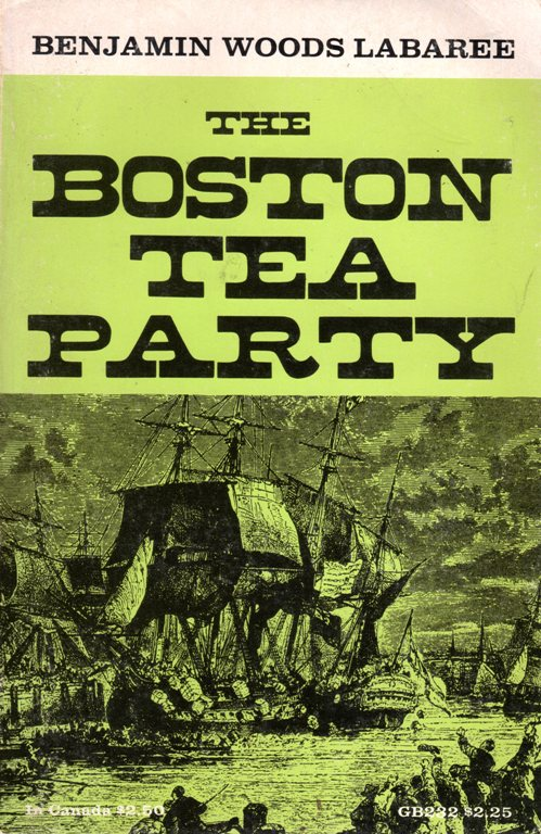 Boston Tea Party, Used Books, Manteca, California