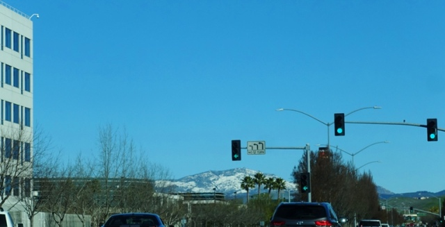 Mt. Diablo, Snow Covered, Snow Levels, Winter