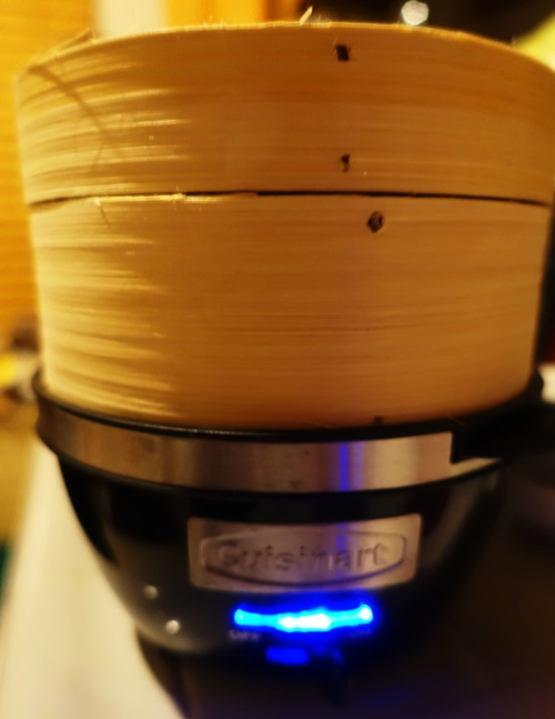 Steamer, Bamboo, steam source, egg cooker, Cuisinart