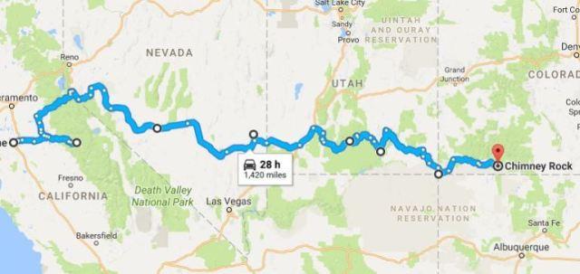 Car Route, Virtual Hike, Google Maps
