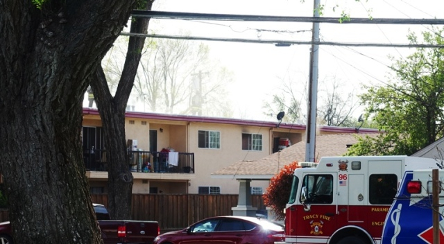 Tracy Fire, Fire Department, apartment fire, Tracy California