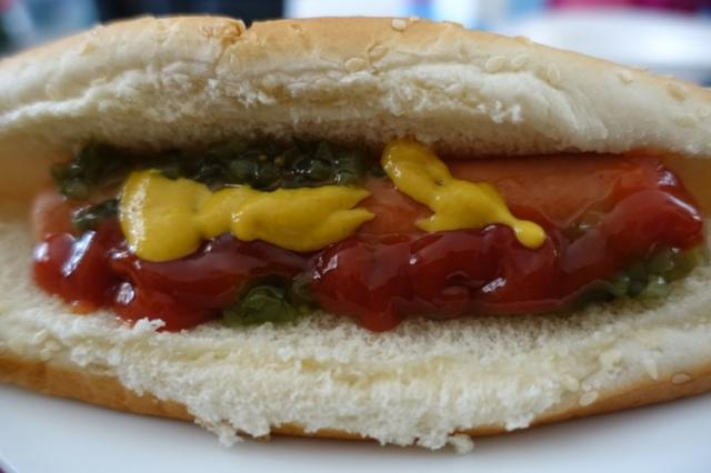 Hot Dog, Lunch, Toronto, Travel Food