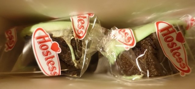 Mint Chocolate CupCakes, Hostess, St. Patrick's Day, Snack Cakes, Limited Edition