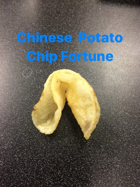 Chinese Potato Chip, Fortune Cooke, Fortunes