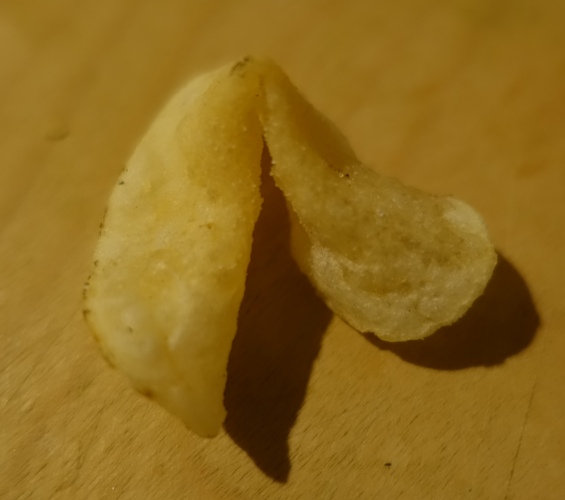 Fortune Cook Shape, Chips, Dirty Chips