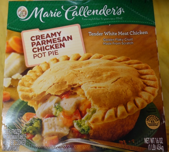 Marie Callenders Pie, Pot Pie, Pi Day