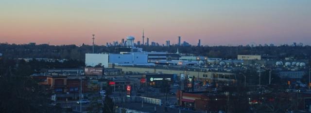 Toronto Skyline, York Mills, Westin Prince, Tim Hortons