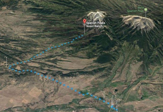 Spanish Peaks Scout Ranch, Virtual Hike, Colorado, Boy Scouts