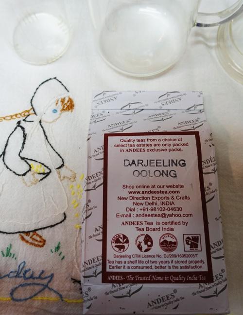 Darjeeling Oolong Tea, Andees Tea, Indian Tea