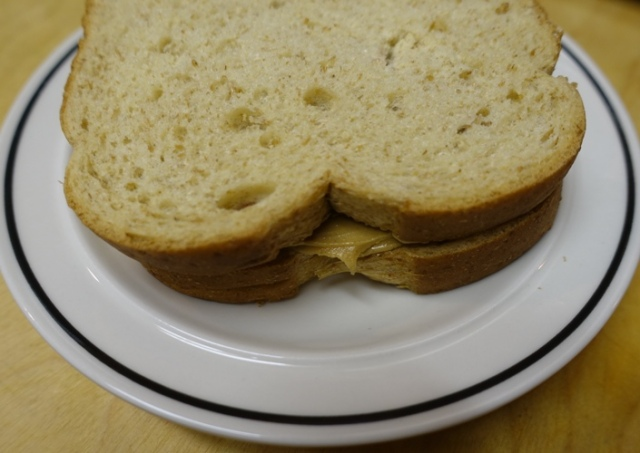 Completed sandwich, PBJ, Peanut Butter and Jelly Day,