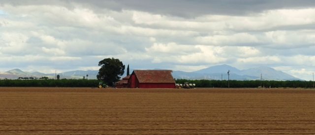 Red Barn, Mt. Diablo, California, Agriculture, Tracy