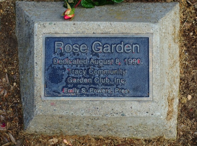 Tracy California, Rose Garden, Garden Club