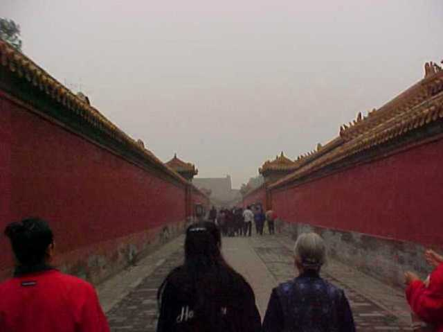 Forbidden City, Beijing, China, Memories, Early Digital
