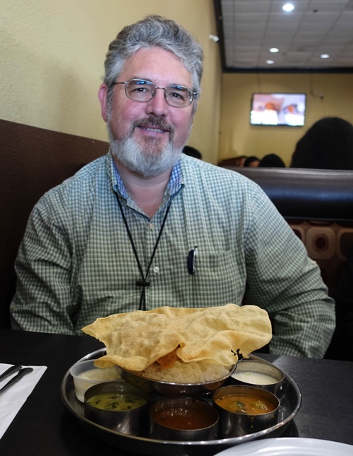 Indian Food, Sri Ananda Bhavan, Pleasanton, California