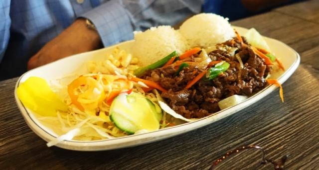 Beef Bulgogi, Korean Food, Odagada, Ulferts Center, Dublin, California