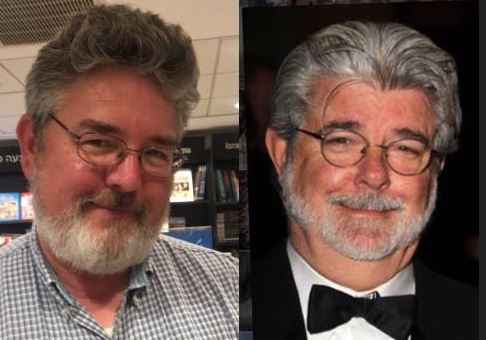 George Lucas, Look a like, Star Wars
