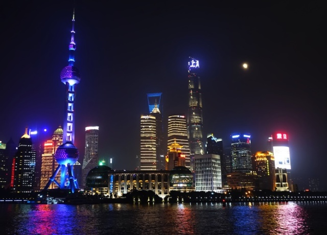 Luijazui Skyline, Shanghai, Pudong, Tallest Building Cluster, China Tall Buildings