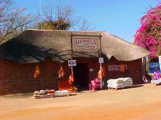 South Africa, Near Johannesburg, African Hut