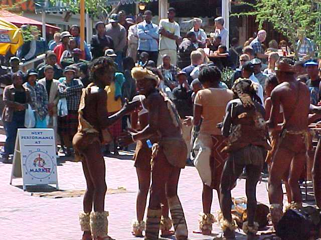 South African Indigenous people, Johannesburg, Performance
