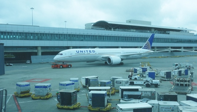 787, Boeing 787, United Airlines, SFO, PVG