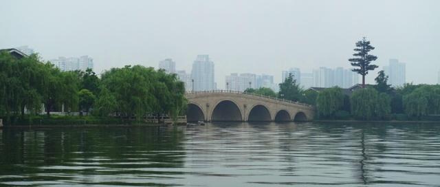 Bridge, Suzhou, China, Jinji Lake