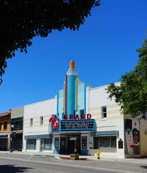 Tracy, The Grand, Theater, Old Theater