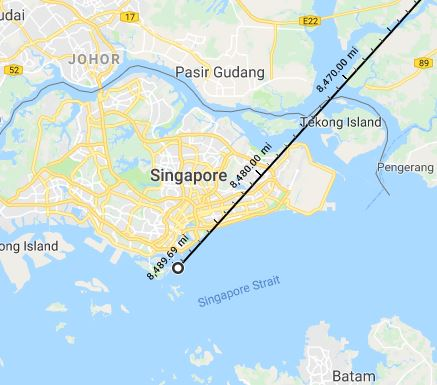 Farthest from Home, Singapore