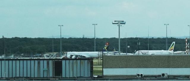South African Airways, Frankfurt Airport, Planes