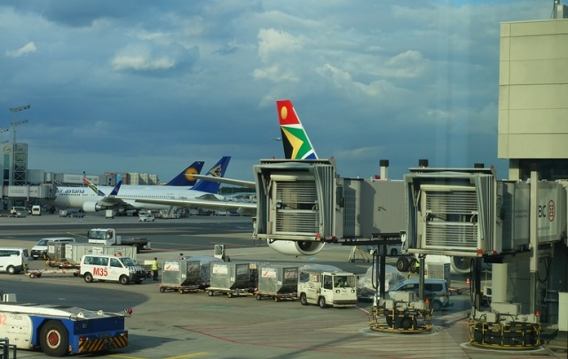 Frankfurt Airport, South African Airways, Tail Art