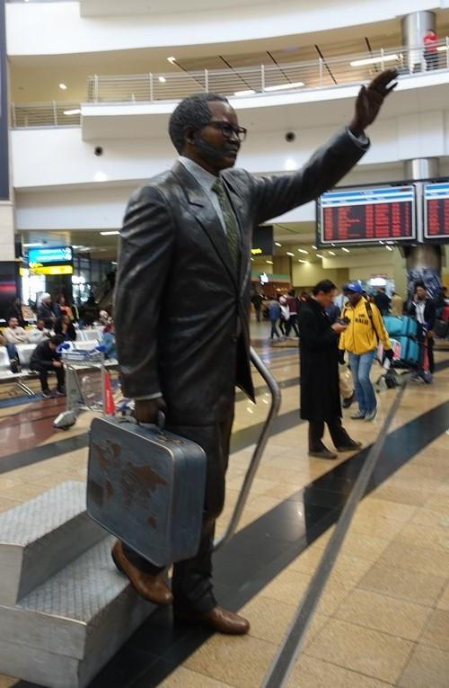 Oliver Tambo, Johannesburg, Airport, Statue, Sculpture