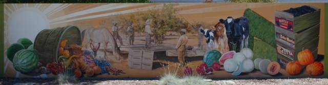 Manteca Murals, Agriculture History, San Joaquin County, California