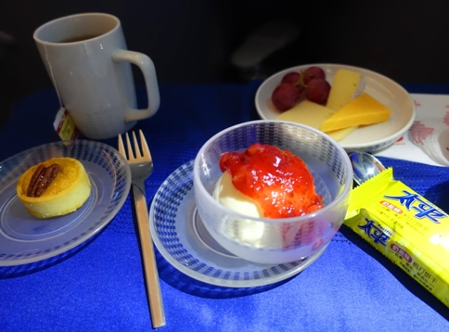 United Polaris, Dessert, Business Class