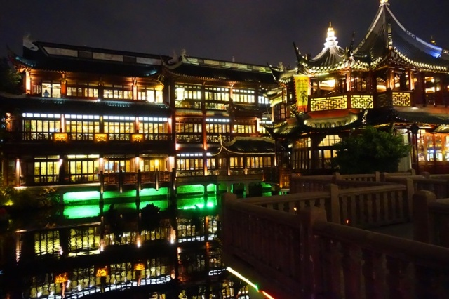Yu Gardens, Shanghai, Culture, Night View