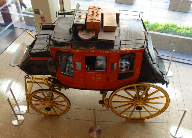 Wells Fargo Wagon, San Francisco, Luggage, Yellow Wheels