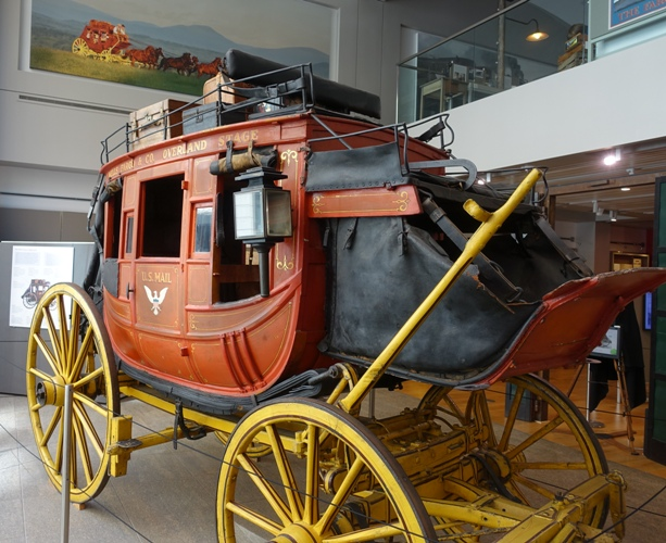 Wells Fargo Stage Wagon, Museum, San Francisco, Concord Stage