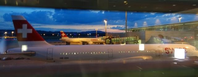 Swiss, Zurich Airport