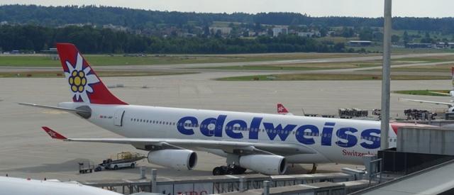 Edelweiss Airlines, Zurich