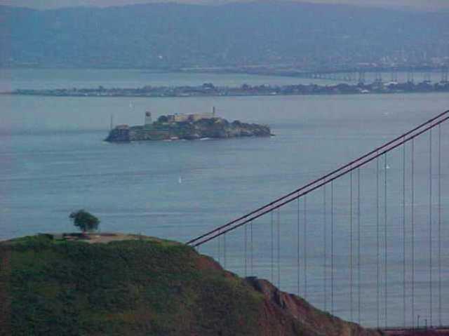 Alcatraz, Golden Gate, Marin Headlands