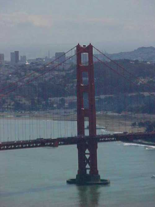 Golden Gate Tower, San Francisco, Old Pictures