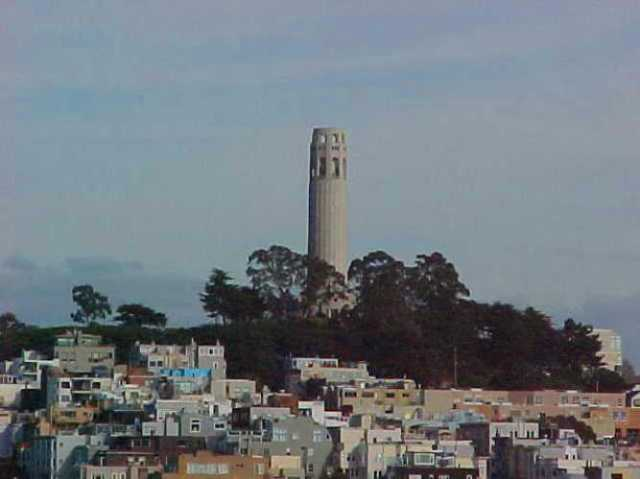 Coit Tower, San Francisco, old pictures, 2000, Throwback Thursday
