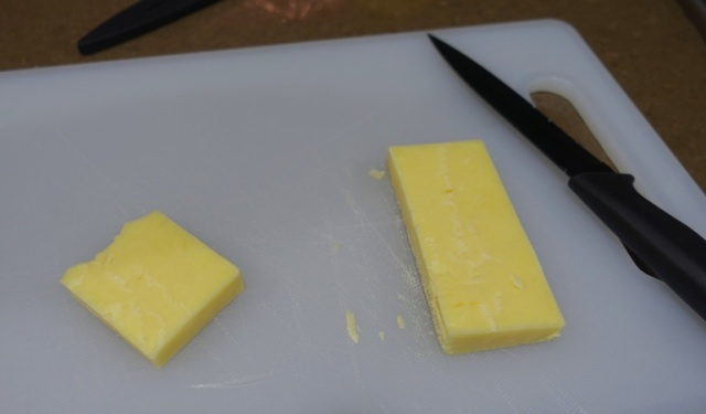 Australian Cheese, block of cheese, aged cheese, cutting board